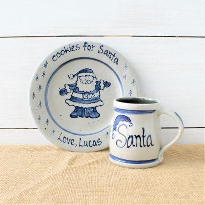 Cookies for Santa Personalized Plate & Mug Set