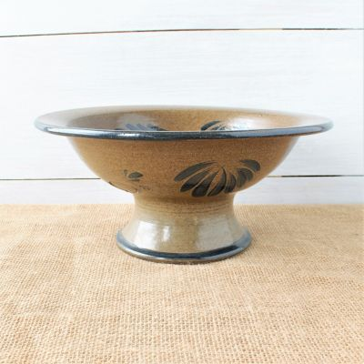 Provincial Footed Bowl