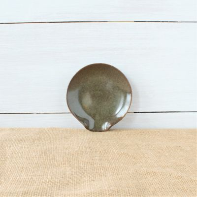 Sandstone Spoon Rest- Cerulean Blue
