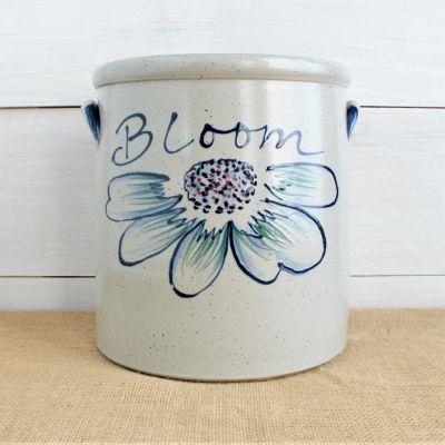 Spring 2 Gallon Crock - Bloom