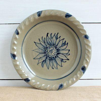 Fall Pie Plate - NEW Sunflower