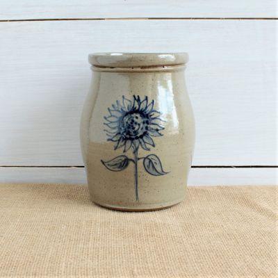 Fall Utensil Jar - NEW Sunflower